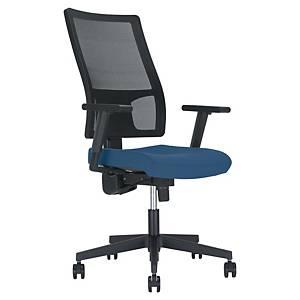 Melik Mesh Synchron Chair - Blue