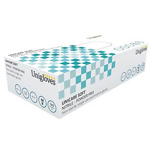 Gants Unigloves GS0032 - nitrile - taille S - 100 gants