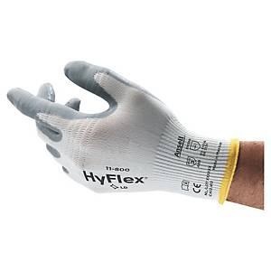 Ansell HyFlex® 11-800 Handschuhe für Präzisionsarbeiten, Größe 9