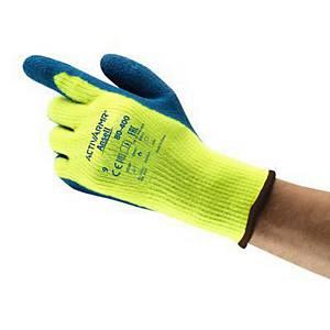 Gants résistants au froid Ansell 80-400, enduction latex, taille 10, 12 paires