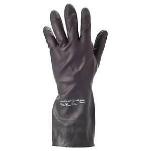 Chemikalienschutzhandschuhe AlphaTec 29-500, Neopren, Größe 10, schwarz, 1 Paar