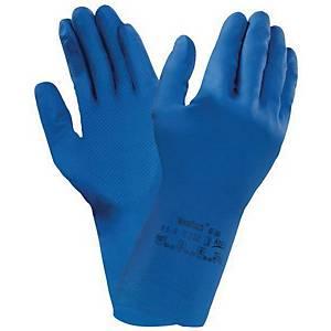Ansell Versatouch 87-195 handschoenen, latex, maat 7,5/8, pak van 12 paar