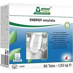 Oppvasktabletter Green Care Energi Easytabs 4-i-1, eske à 80 stk.