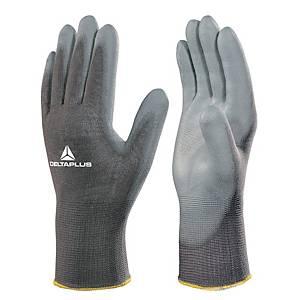 Deltaplus VE702 High-Tech Fine Handling Gloves - Grey - Size 9
