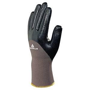 Deltaplus VE713 Oil Handling Gloves Grey/Black Size 10 (Pair)