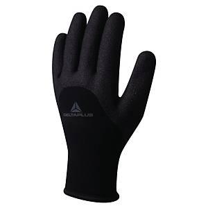 Gants résistants au froid Deltaplus VV750, revêt. nitrile, taille 9, 10 paires