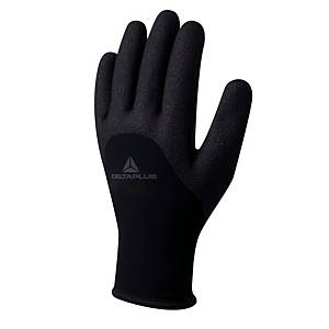 Deltaplus Hercule Cold Protection Gloves Grey/Black Size 9 (Pair)
