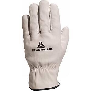 Deltaplus FBN49 Driver lederen handschoenen, maat 10, pak van 12 paar