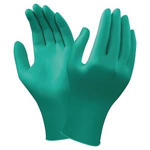 Chemikalienschutzhandschuhe TouchNTuff 92-600, Nitril, Gr. 6,5-7, gn, 100 Stück