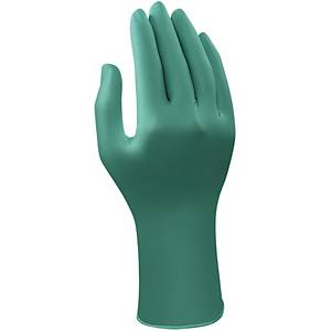 Ansell TouchNTuff 92-600 nitrile gloves length 240 - size 8 - box of 100
