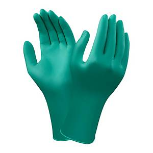 Gants jetables Ansell TouchNTuff 92- 605, nitrile, taille 6,5/7, 100 pièces