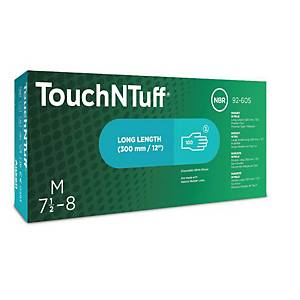 Ansell TouchNTuff® 92-605 disposable nitrile gloves, size 7.5-8, 100 pieces