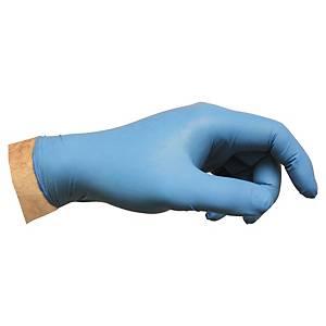 Engangshanske nitril Ansell Versatouch 92-200 blå str. 9, eske á 100 stk
