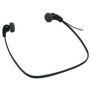 Philips sluchátka LFH0334, kabel: 3 m, sluchátka s průměrem 14 mm