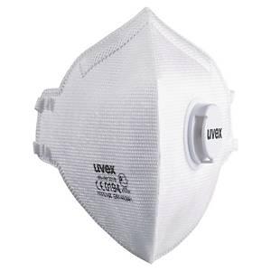Masque pliable jetable Uvex Silv-Air C 3310 FFP3 - avec soupape - par 15