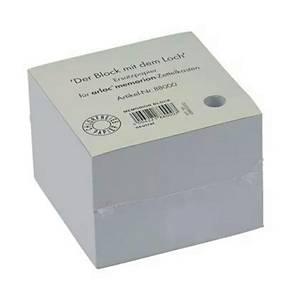 Notizzettel Arlac 880, Zettelkästen, Maße: 10x10cm, gelocht, weiß, 600 Blatt