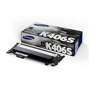 Samsung CLT-K406S Black Toner Cartridge (SU118A)