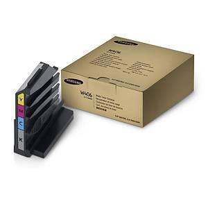 Spilltonerbehållare Samsung CLT-W406/SEE, 7 000 sidor