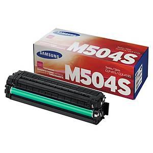 삼성 CLT-M504S 레이저 토너 카트리지 빨강