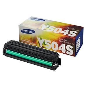 삼성 CLT-Y504S 레이저 토너 카트리지 노랑