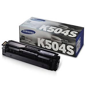 삼성 CLT-K504S 레이저 토너 카트리지 토너 검정