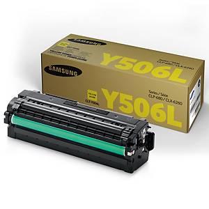 Samsung CLT-Y506L laservärikasetti keltainen