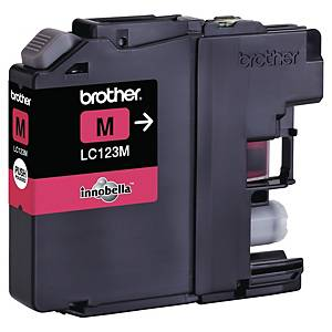 Cartouche d encre Brother LC123M - magenta