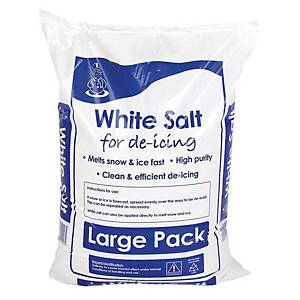 White De-Icing Salt 25kg Bag