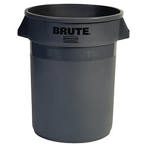 Affaldscontainer Rubbermaid, 121 L, grå