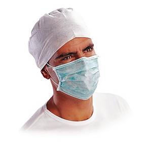 Jednorazowa maska higieniczna DELTA PLUS MASQUG, opakowanie 50 sztuk