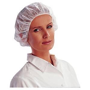 VENITEX PROTECTIVE DISPOSABLE MOBCAPS WHITE - BOX OF 100