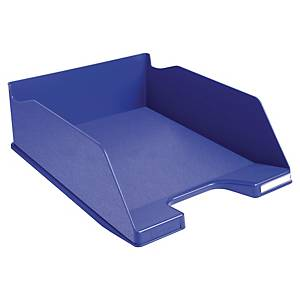 Exacompta Recycled COMBO MAXI A4+ Letter Tray, Night Blue