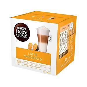 NESCAFÉ Dolce Gusto Latte Macchiato Capsule - Box of 16