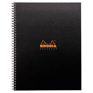 Cahier spirale Rhodiactive Notebook rembordé A4+ - 160 pages - ligné
