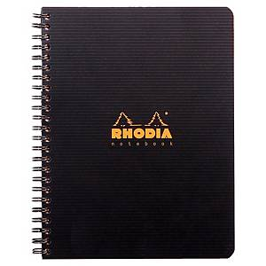 Cahier spirale Rhodiactive Notebook A5+ - 160 pages - quadrillé