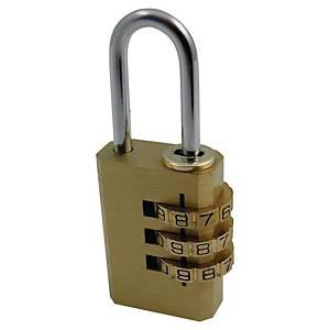 Bezpečnostní zámek Pavo, velikost: 8 x 3,2 x 1,8 cm