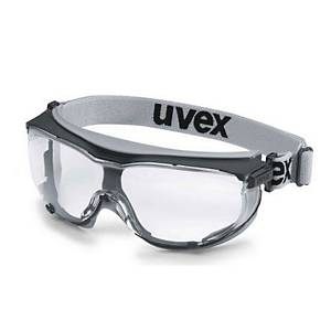 uvex carbonvision safety goggles, clear