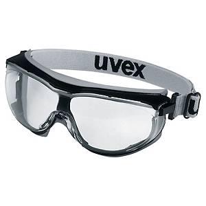 Gogle Uvex carbonvision 9307.375, soczewka bezbarwna, filtr UV 2-1,2, waga 48 g