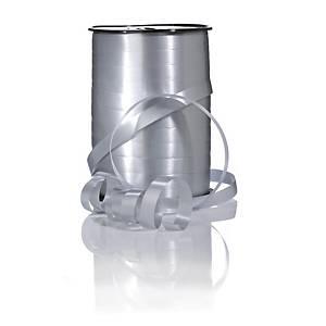 Gavebånd Glossy, 10 mm x 250 m, sølv