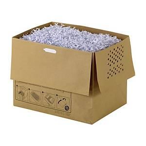 Aktenvernichterbeutel Rexel, 32L aus Papier, Packung à 20 Stück
