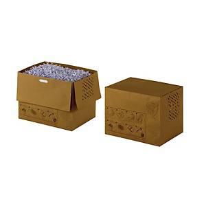 Makulatorpose Rexel, genbrugspapir, 32 L, pakke a 20 stk.