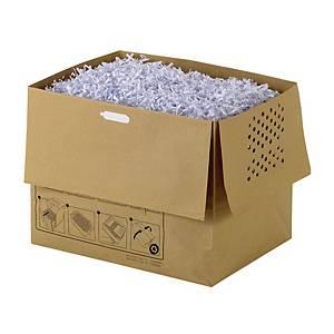 Aktenvernichterbeutel Rexel, 40L  aus Papier, Packung à 20 Stück