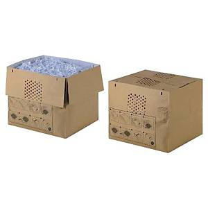 Rexel recycled paper bags 80 liter  - pack of 50