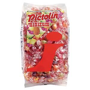 Bonbon d accueil Pictolin Minizum - paquet de 1 kg