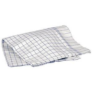 PK 10 WASHER TEA TOWELS COTTON 50X70 CM