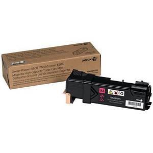 Cartouche toner Xerox 106R01595 (Phaser 6500), magenta, haute capacité