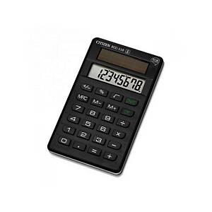 Citizen ECC-110 ökologischer Taschenrechner, schwarz