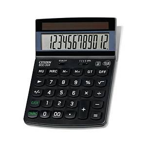 Taschenrechner Citizen ECC-310, 12-stellige Anzeige, schwarz
