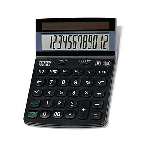 Calcolatrice Cittadino ECC-310, visualizzazione 12 cifre, nero