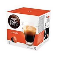 Nescafé® Dolce Gusto Lungo koffiecups, pak van 16 capsules